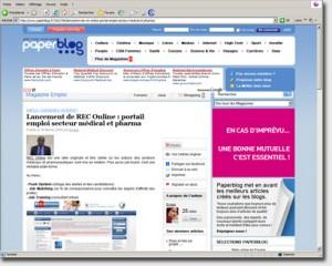 REC-online sur paperblog